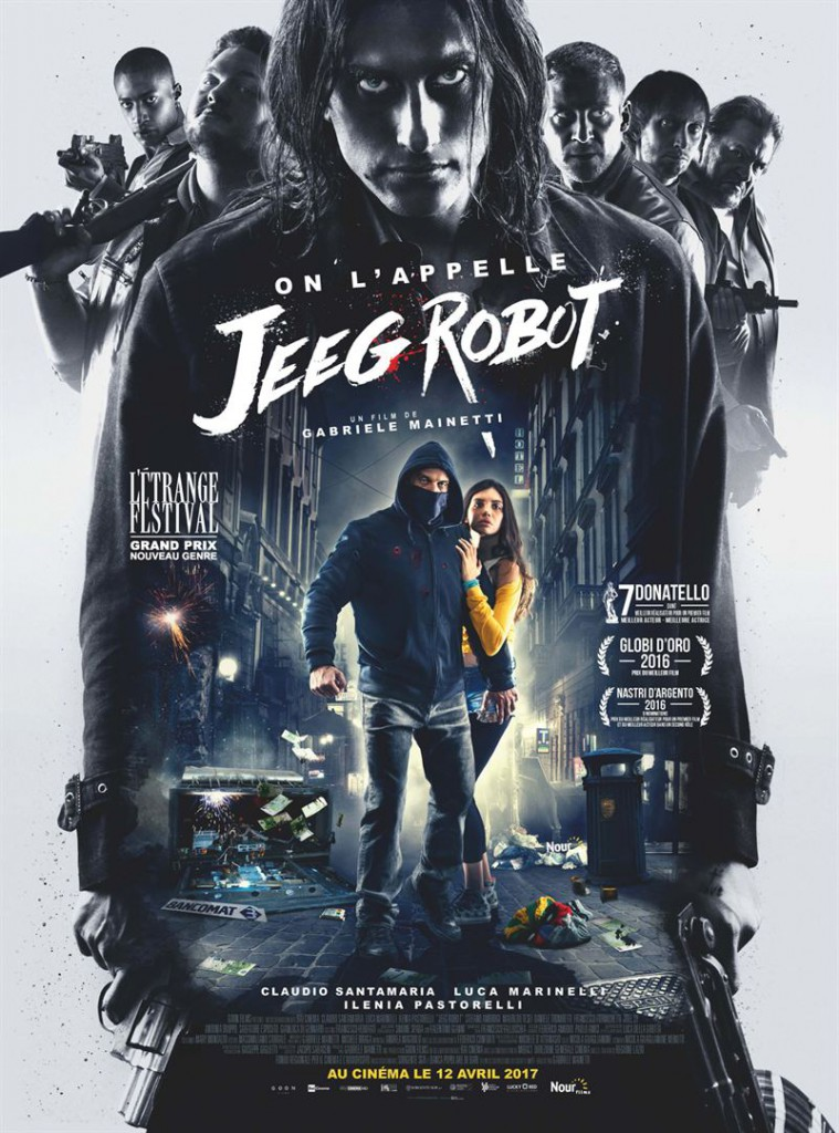On l'appelle Jeeg Robot_affiche