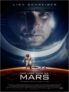 The last days on mars_affiche